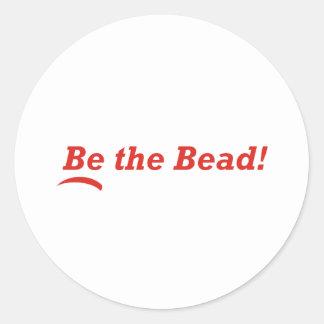 Be the Bead Classic Round Sticker