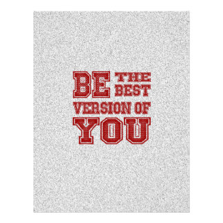 Be the Best Version of You Letterhead
