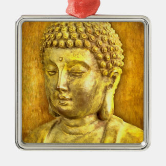 Be the Buddha Metal Ornament