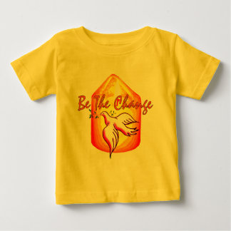 Be The Change Baby T-Shirt