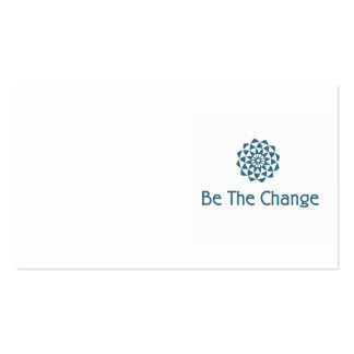 Be the Change Business Card