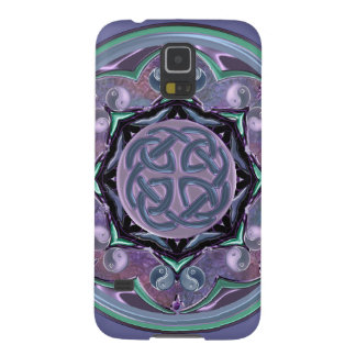 Be the Change Celtic Moon Mandala Galaxy Case Galaxy S5 Cover
