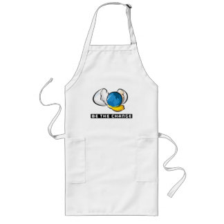 Be The Change Earth Day Long Apron