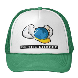 Be The Change Earth Day Trucker Hat
