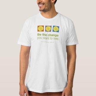 """Be the change"" men's t-shirt"