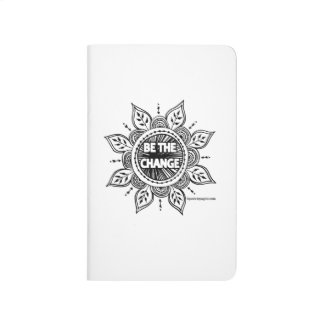 Be the Change Pocket Journal