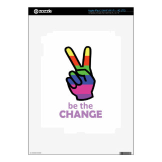 BE THE CHANGE iPad 3 SKIN