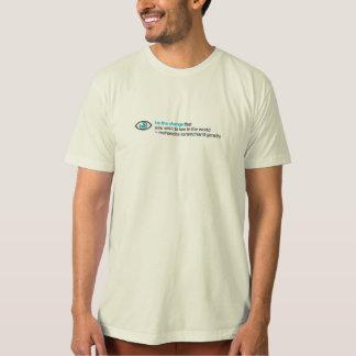 be the change tee shirt
