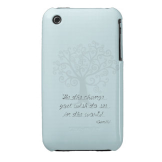 Be the Change Tree iPhone 3 Cases