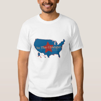 Be The Change USA Destroyed T-Shirt