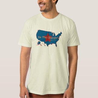 Be the Change USA Organic T T-Shirt