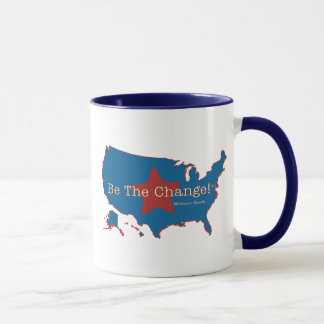 Be The Change USA Ringer Mug