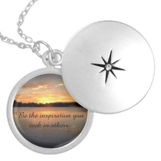 Be the inspiration you seek in others - locket