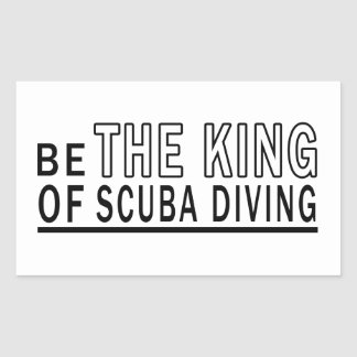 Be The King Of Scuba Diving Sticker