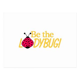 Be The LadyBug Postcard
