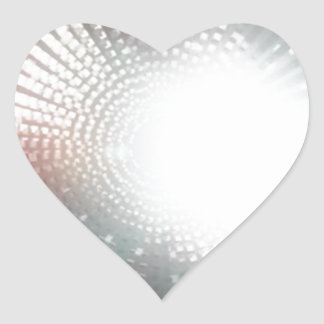 BE the LIGHT in someone LIFE - bring FOCUS Heart Sticker