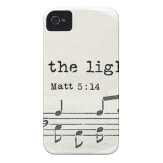 Be the light-Matt - bible vs. gifts, quotes iPhone 4 Cover