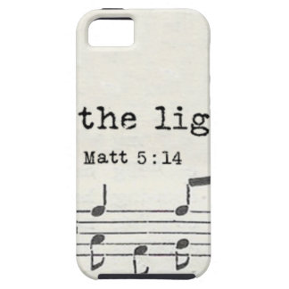 Be the light-Matt - bible vs. gifts, quotes iPhone SE/5/5s Case