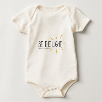 Be the Light Mental Health Ministry Baby Bodysuit