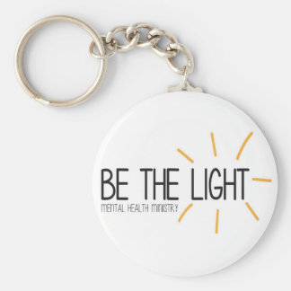 Be the Light Mental Health Ministry Keychain