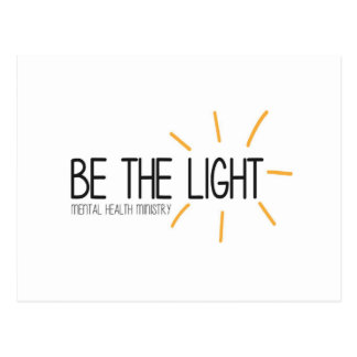 Be the Light Mental Health Ministry Postcard