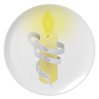 Be The Light Party Plates