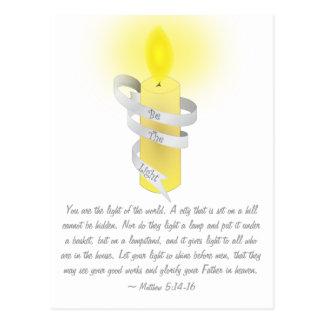 Be The Light Postcard