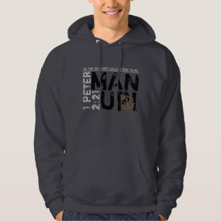 Be the man God told you to be Christian Hoodie
