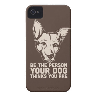 be the person your dog thinks you are iPhone 4 covers
