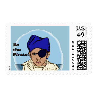 Be the Pirate Postage