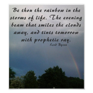 Be The Rainbow Poster
