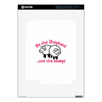 Be the Shepherd Decals For iPad 3