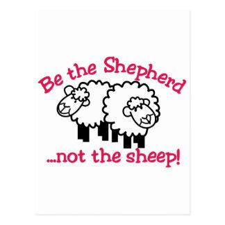 Be the Shepherd Postcard