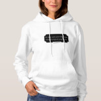'Be the sub your Mistress would expect you to be' women's hoodie DARK