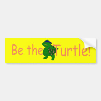 Be the Turtle Divo Bumper Sticker