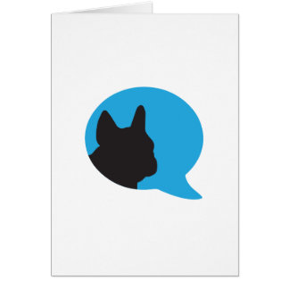 Be Their Voice - French Bulldog Notecards Card