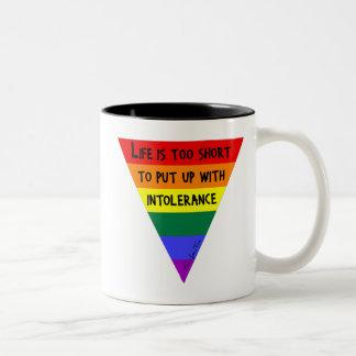 Be Tolerant Coffee Mugs