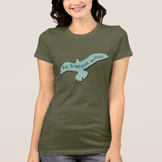 Be Tranquil Within Yoga Zen T-Shirt