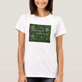 Be Tranquil Within Zen Yoga Women's T-shirt