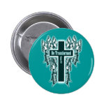 Be Transformed – Romans 12:2 2 Inch Round Button