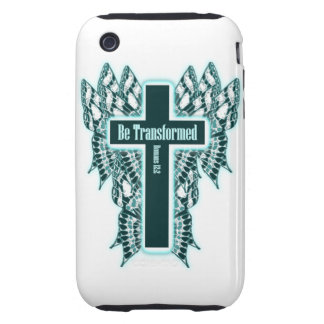 Be Transformed – Romans 12 2 Tough iPhone 3 Cases