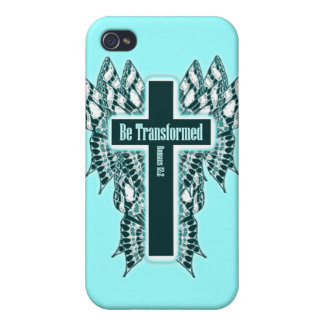 Be Transformed – Romans 12:2 Cases For iPhone 4