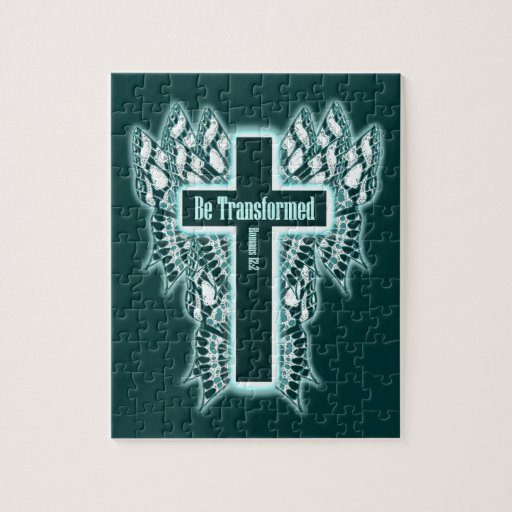 Be Transformed – Romans 12:2 Jigsaw Puzzle