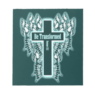 Be Transformed – Romans 12:2 Notepad