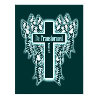 Be Transformed – Romans 12:2 Postcard