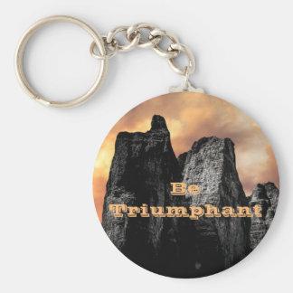 Be Triumphant Keychain