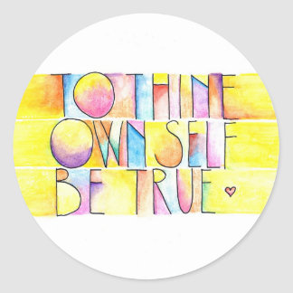 Be True stickers