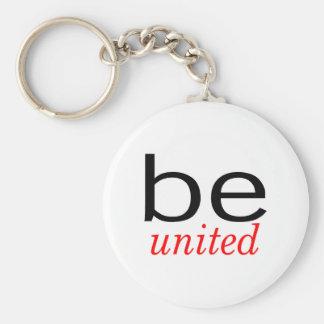 Be United Keychain