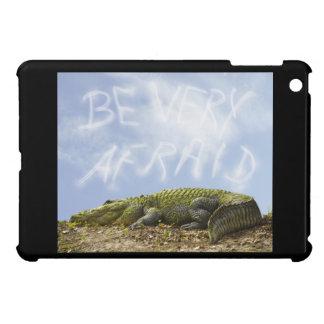 """Be Very Afraid"" of HUGE Florida Gator! iPad Mini Cover"
