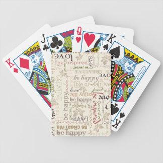 Be vintage deck of cards
